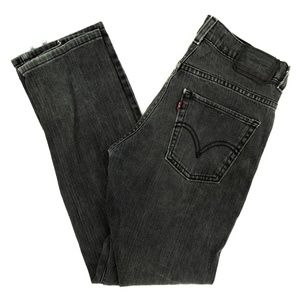 Levi's Strauss 511 Jeans Skinny Embroidered 28X28